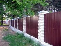 Строительство заборов, ограждений в Новороссийске и пригороде, строительство заборов, ограждений под ключ г.Новороссийск